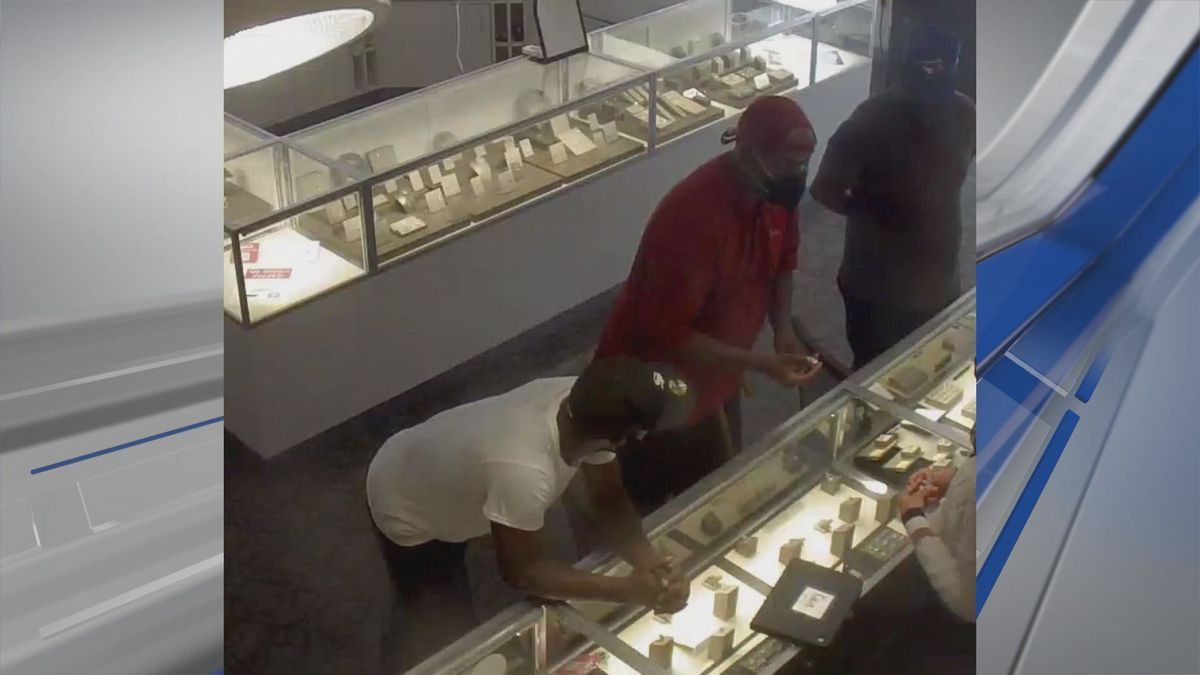 Prattville police say these three men stole from a jewelry store on June 1, 2021.