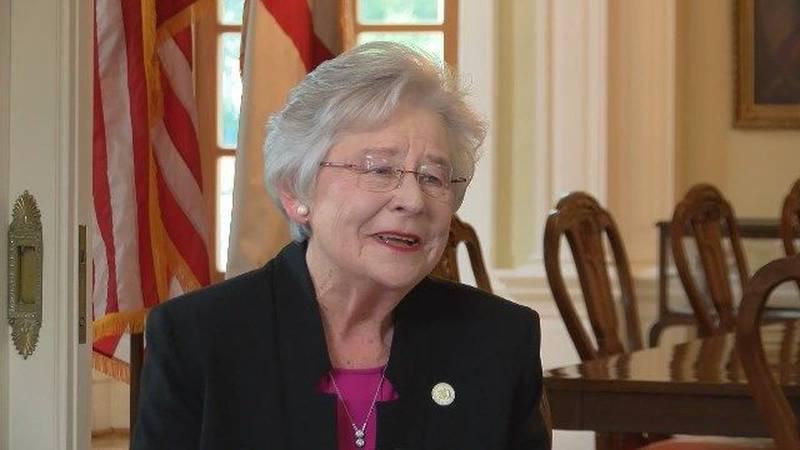 Alabama Gov. Kay Ivey will speak Tuesday during a Montgomery Kiwanis Club of Montgomery meeting.