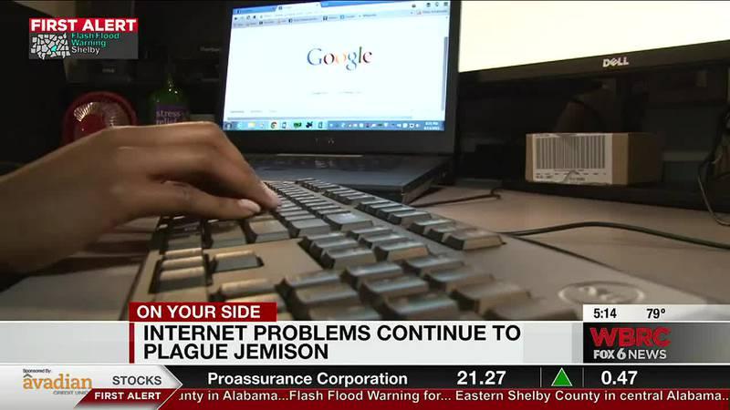 Internet problems continue to plague Jemison