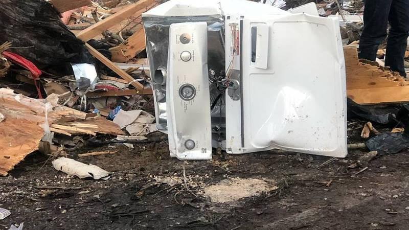 First look at worst of damage in Lee County