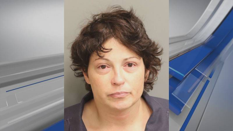 Angelica Adair is accused of breaking into multiple city vehicles on Aug. 1, 2021.