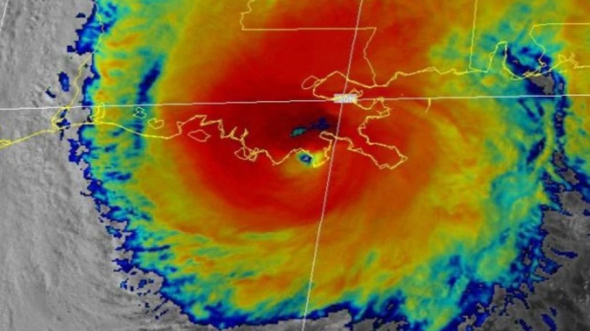 Hurricane Zeta was a category 3 major hurricane at landfall in southeastern Louisiana.