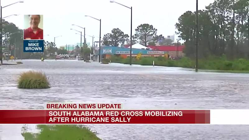 Red Cross mobilizing after Hurricane Sally