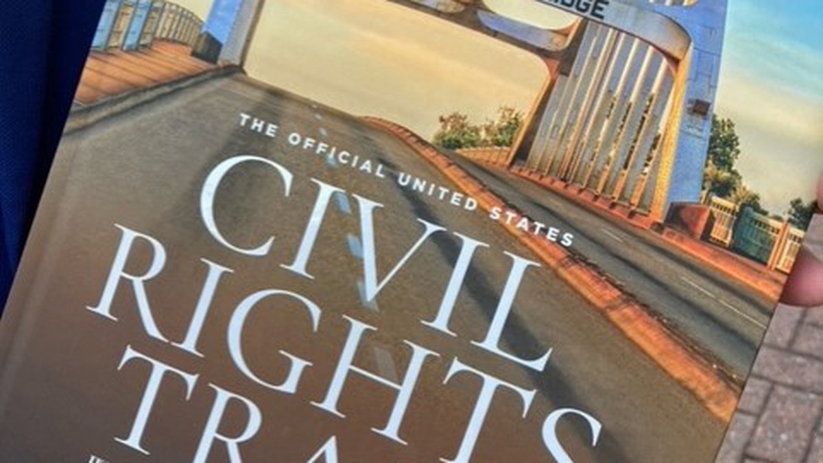 The book was written to be a companion, a guide, to the Civil Rights Trail that features more...