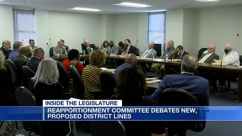Committee debates proposed Alabama redistricting maps