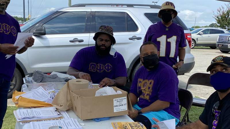 NAACP and Omega Psi Phi hold vaccine clinic and voter mobilization event