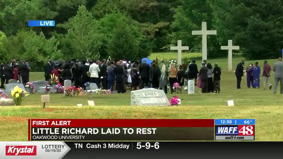 Little Richard laid to rest at Oakwood