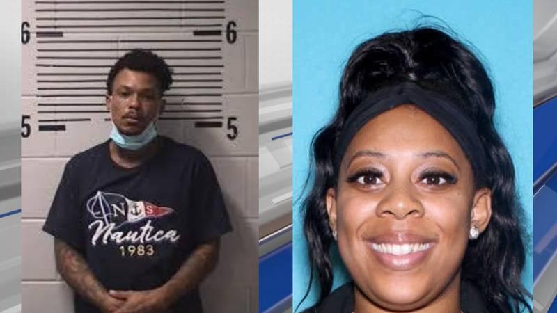 Jarvarus Williams and Arielle Glanton were arrested on Aug. 13, 2021.