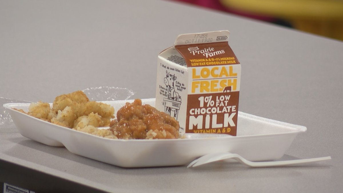 Participation is increasing for school meal program.