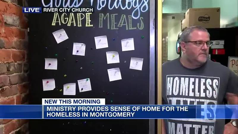 Ministry provides sense of home for Montgomery homeless