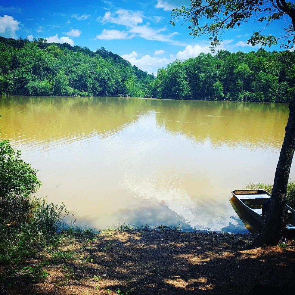 Chewacala Lake sits at the heart of the park. Visitors can swim and dive off the diving...
