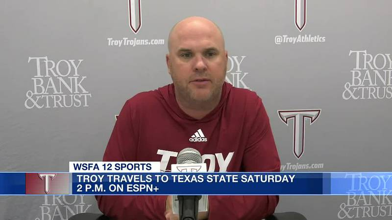 Troy Trojans set for road game at Texas State