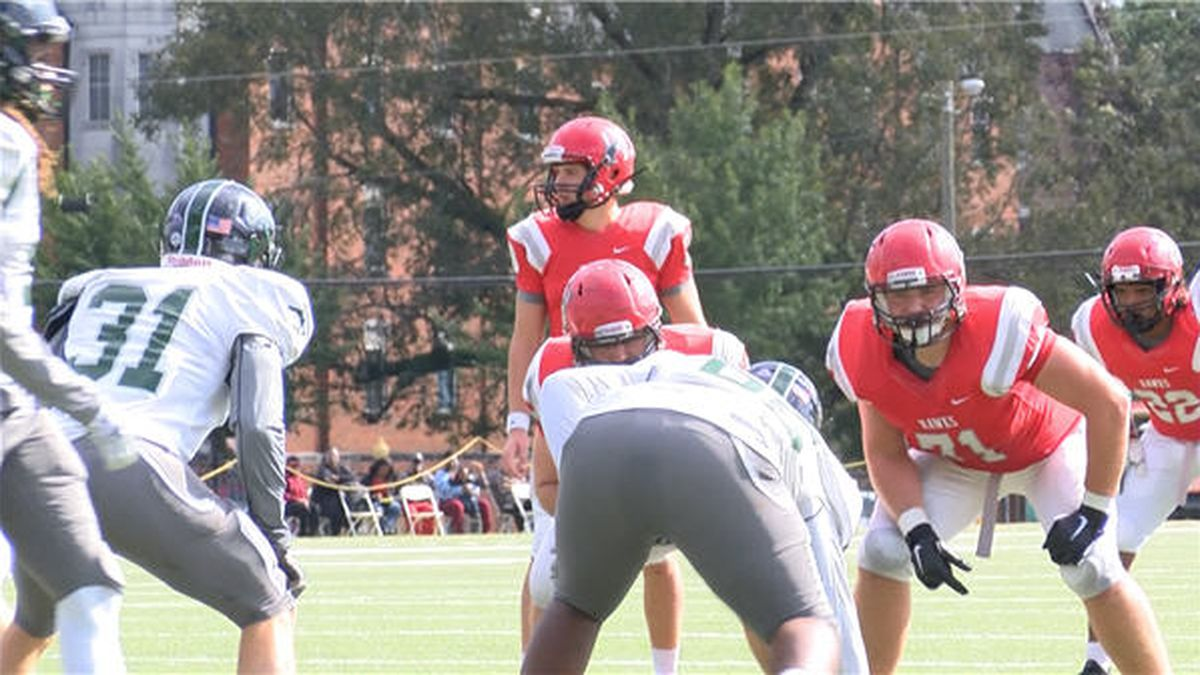 The Huntingdon Hawks secured their second win of the 2018 campaign on Homecoming by beating the...