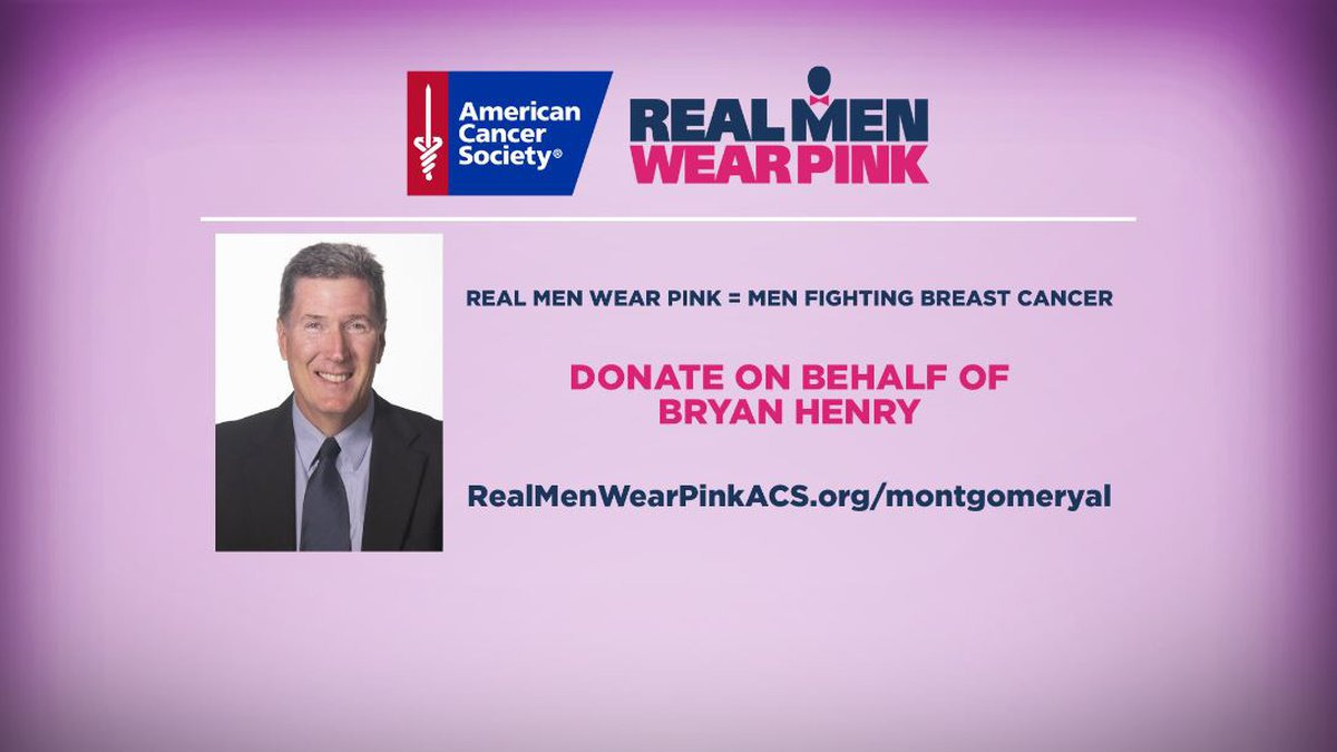 The American Cancer Society has launched its 2020 Real Men Wear Pink campaign to raise money...