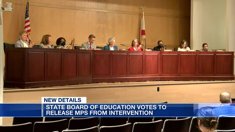 State board of education votes to release MPS from intervention