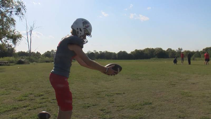 Aubrey Grace is a senior at Pike Road High School. Grace is also the starting kicker and punter...