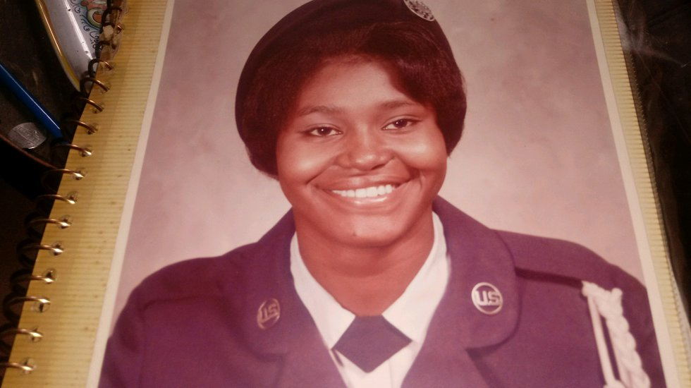 Jessica Hall served in the Air National Guard for 24 years.