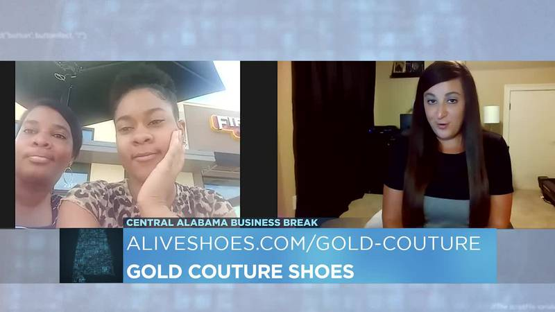 Gold Couture Shoes
