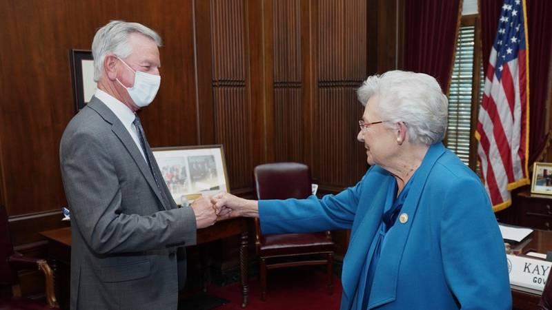 Governor Kay Ivey meeting w Senator-Elect Tuberville