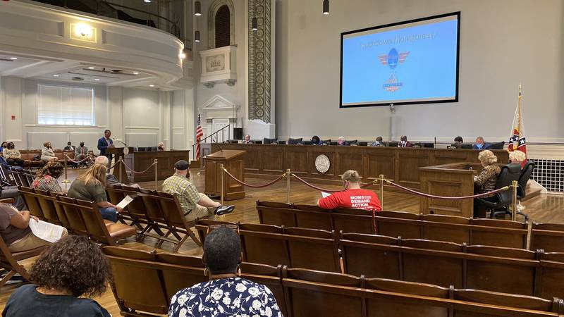 The Montgomery City Council addressed apartment operating with business licenses on Sept. 7,...