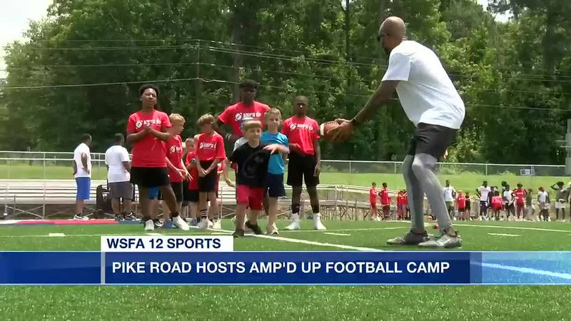 Pike Road Hosts 'Amp'd Up' football camp