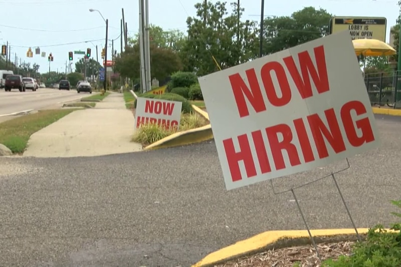 Since last September, Alabama's unemployment numbers dropped by 78,790 people, but less...