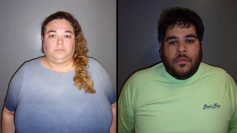 Amy Regalado and Ricado Mejia, both of Falfurrias, Texas, were charged with aggravated...