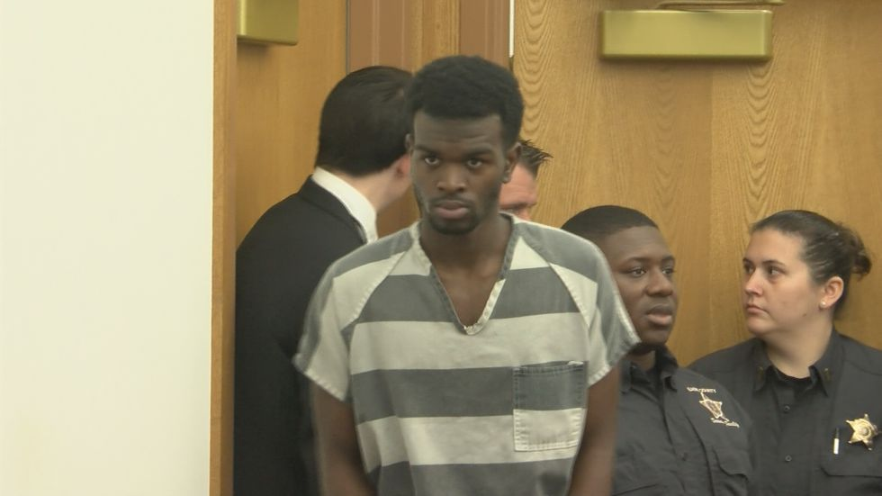 Terrance Cobb is accused of kidnapping and raping a senior women after a traffic incident in...
