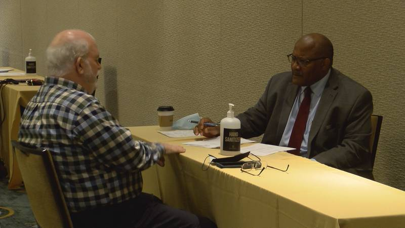 The Montgomery Renaissance Hotel & Spa hosted a job fair in an effort to fill nearly 35 open...