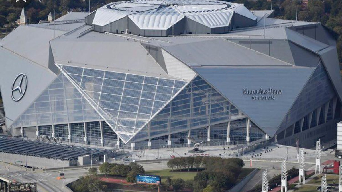 The Tide will take on No. 14 Miami at Mercedes-Benz Stadium, which will open its roof for the...