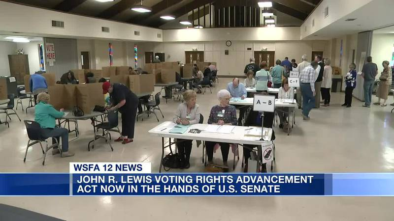 John Lewis Voting Rights Advancement Act goes to Senate