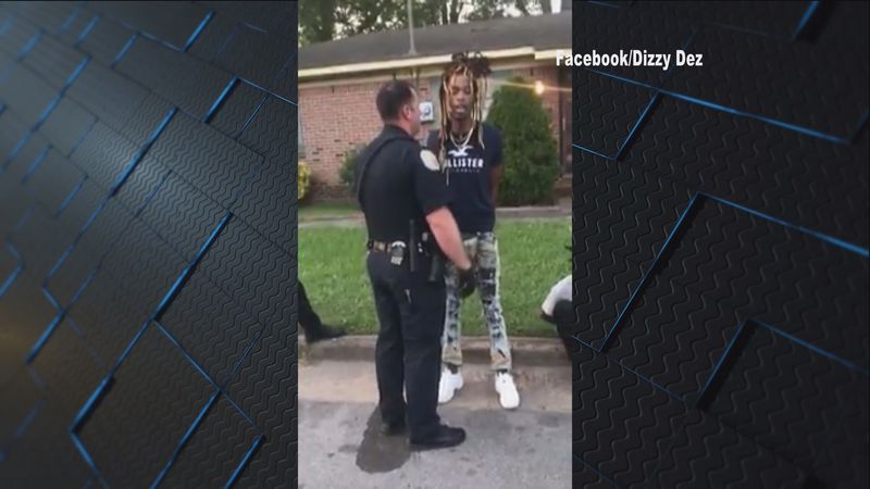 A Decatur officer was filmed in a heated exchange with a person.