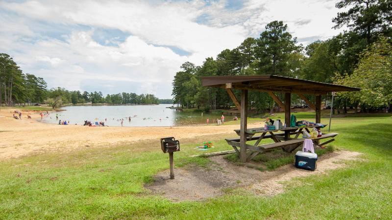 Wind Creek State Park's 1,445 acres hug the shoreline of Lake Martin.