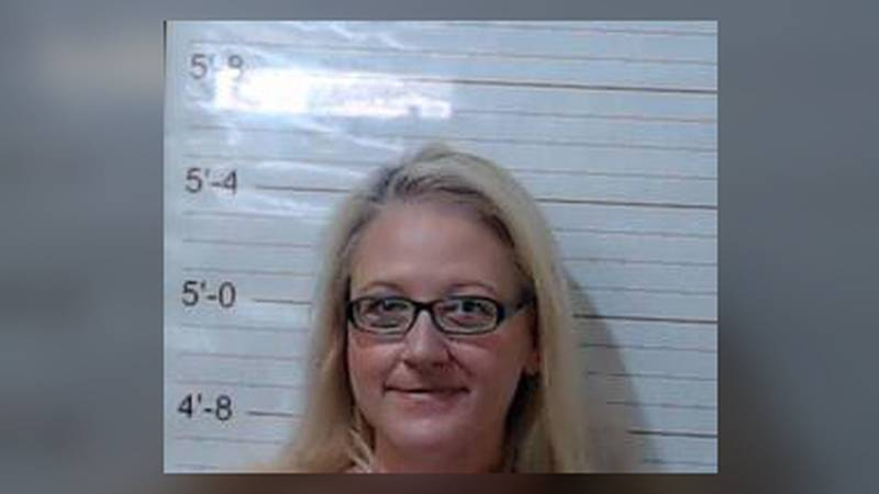 Martha Pope was arrested and charged with 'Engaging in a sex act with a student.'