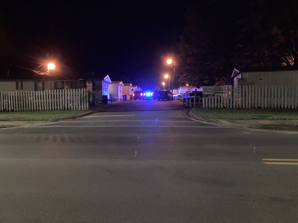 Chief Ronnie Fielder said two people were found dead at Sardis Trailer Park in the 800 block of...
