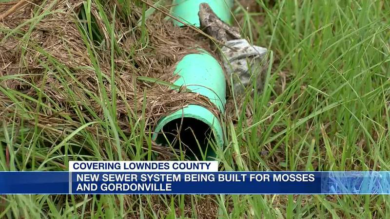 New sewer system being built for Mosses, Gordonville