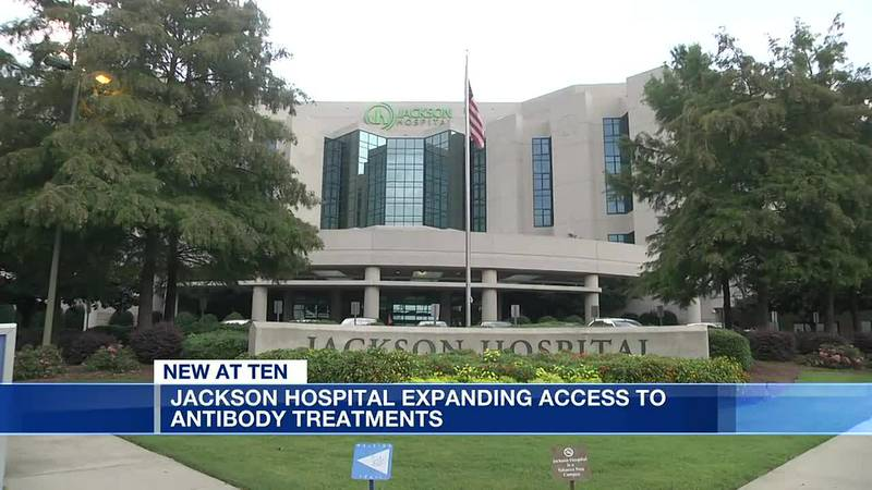 Jackson Hospital expanding access to monoclonal antibody treatment