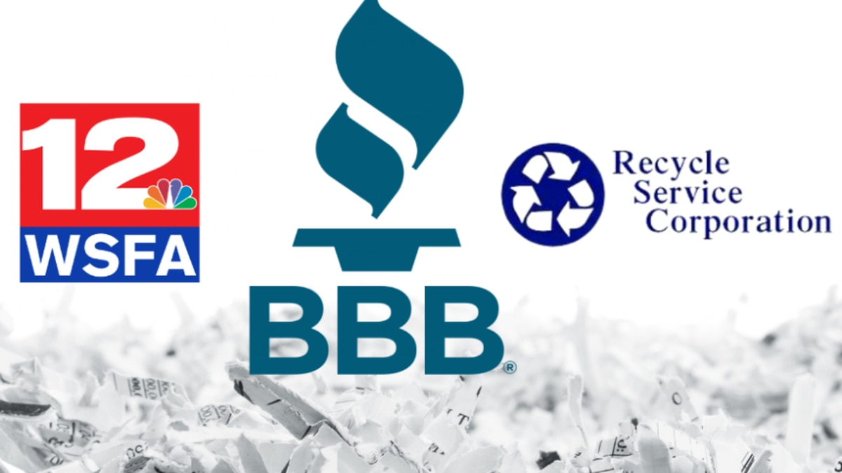 WSFA 12 News and the BBB are hosting a Community Shred Day at Recycle Service Corporation in...