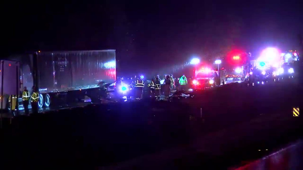 Accident on I-65 NB