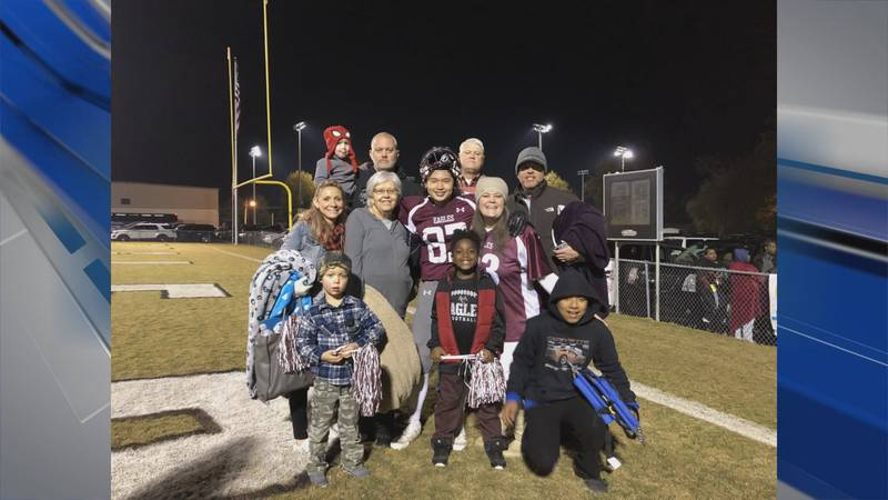 The McCarthy family was named a family of the year by the Guidance Center of Alabama.