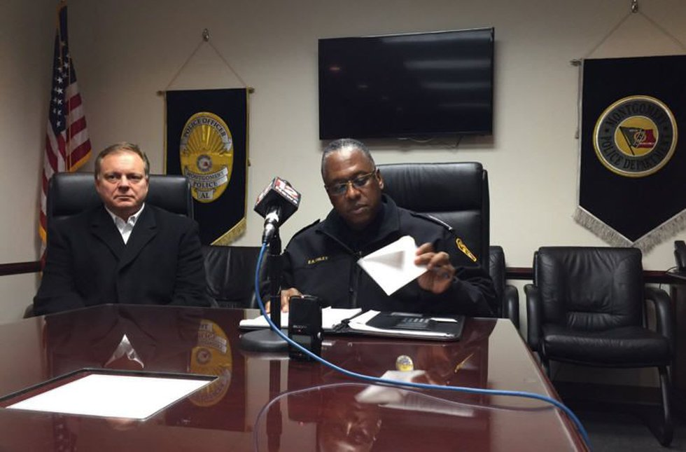 MPD chief speaking about officer-involved shooting this morning (Source: WSFA 12 News)