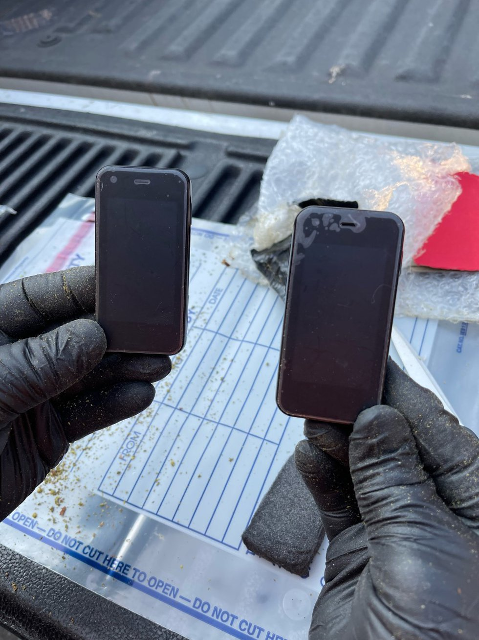 The Brunswick County Sheriff's Office said cellphones that were intended for a correctional...