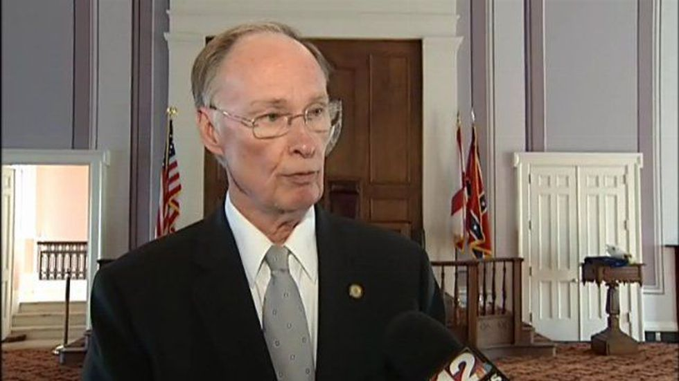 Governor Robert Bentley explains he reasons for not creating a health exchange in Alabama.