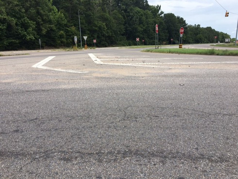 The intersection of highways 231 and 82 in southern Montgomery County has become a danger point...