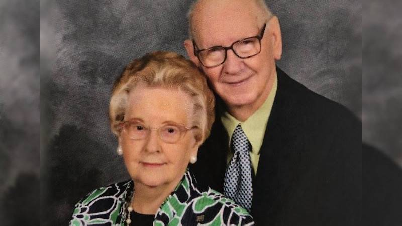 Shirley and Emma Jean Roberson celebrate their 73rd wedding anniversary on Dec. 14, 2020.