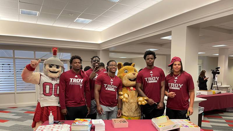 SHORT the Squirrel promotes literacy in Alabama youth.