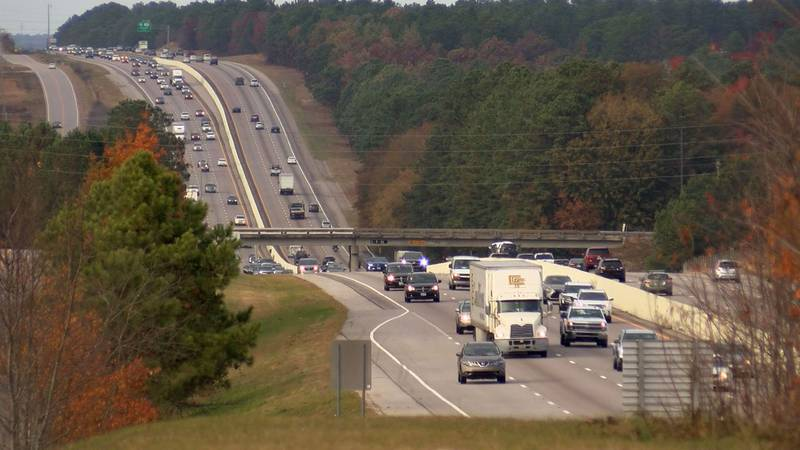 One AAA report said Wednesday is the peak of the traffic for travelers.