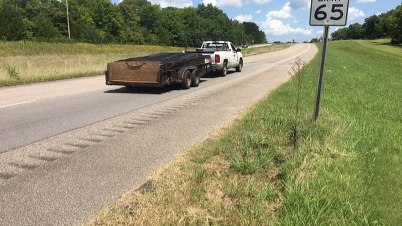 Photos show Highway 331 and Hobbie Road. Car parts litter a part of Hobbie Road, sober...