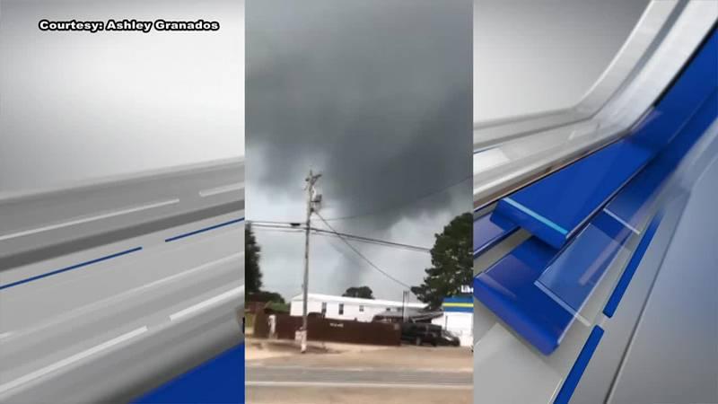Tornado in Pike County