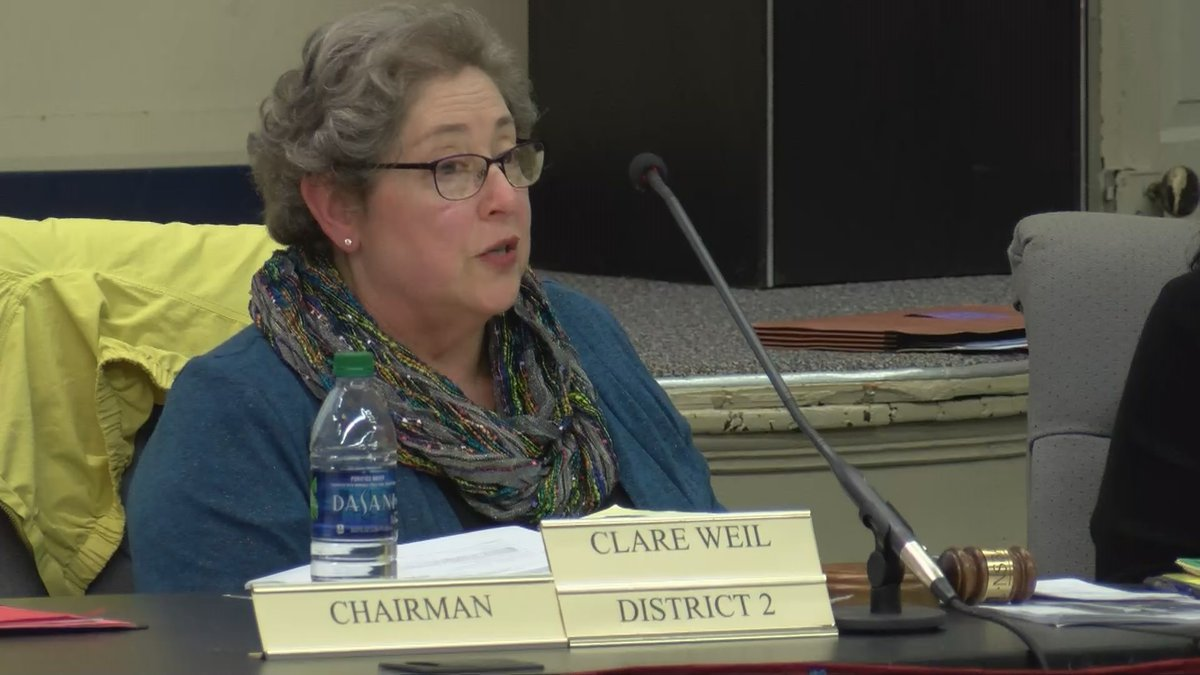 Clare Weil, the new president for the MPS school board, was elected just minutes after being...